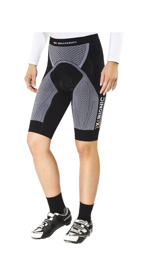 X-Bionic The Trick Biking Comfort Pants Short Women Black/White